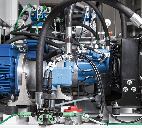 Eaton oferuje producentom maszyn i systemów rozwiązania pomp z napędem bezstopniowym (VSD), które umożliwiają osiągnięcie wyższej wydajności i znacznych oszczędności energii